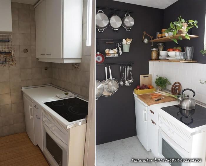 Alisar y Pintar Azulejos Cocina