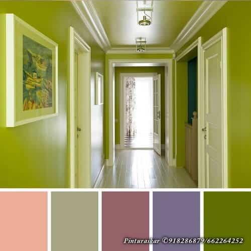 Colores Pintar Pasillos