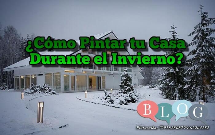 Pintar Casa en Invierno