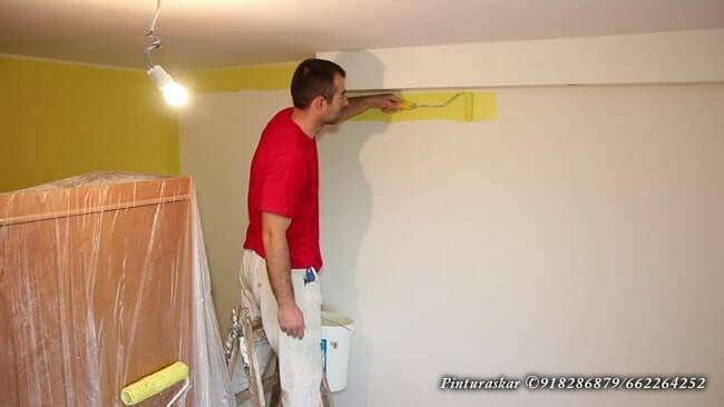 pintura piso de alquiler