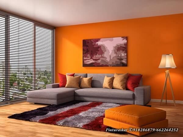 Como Combinar el Color naranja